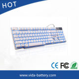 Mini PC USB Wired Computer Keyboard LED Mechanical Computer Backlit Waterproof Keyboard