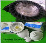세륨 RoHS 열거된 LED GU10 E27 MR16 6W LED 반점 빛 최고 밝은 LED 반점은 실내에 점화한다