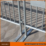 Acoplamiento movible de la cerca de las barreras del camino del metal