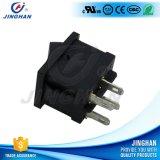 Interruttore di attuatore elettrico di Pin di rettangolo Kcd2-202 4 mini