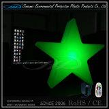 Bom preço RGB e lâmpadas de mesa LED alimentadas por bateria Star Light para o dia de Natal