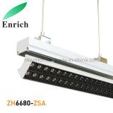 La lámpara linear modular del diseño LED con ajusta ángulo