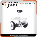 電気スクーターのバランスをとる情報処理機能をもった移動性のスクーターの2車輪
