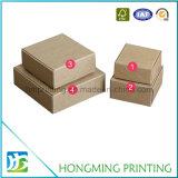 Contenitori differenti all'ingrosso di sapone della carta kraft del Brown di formati