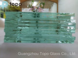 1.9mm25mm Home Appliance/Decorative Clear Float Glass met Ce, SGS, Sio (w-TP)