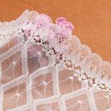 Robes de mariage simples de lacet et de mousseline de soie de robes de mariage de lacet de lacet de robe de mariage de plage