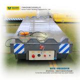Chariot motorisé de transfert de longeron de bâti plat pour des charges lourdes