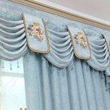 Europäisches populäres Chenille-Openwork Stickerei-Stromausfall-Fenster-Vorhang (20W0006)