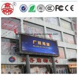 Qualität P10 im Freien farbenreiches LED-Bildschirmanzeige-Panel für das Bekanntmachen