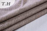 Tela de lino polivinílica 100% del poliester para el sofá y los muebles (FTD31077)