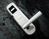 電池式のキーレス電子情報処理機能をもった5つのラッチの安いホテルのドアロック