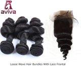 La extensión brasileña del pelo humano de Remy de la Virgen al por mayor suelta la onda