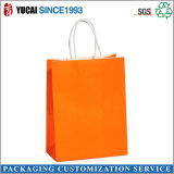 Sac vert Sac Kraft Papier Packaging Bag Sans Pinting