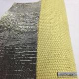 Papel de aluminio revestido de Kevlar 14 Oz aluminizado Aramida Paño