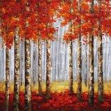 Pittura di alluminio di arte del comitato per gli alberi