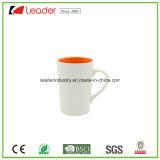 Tazas de café de cerámica de las etiquetas de la flor para los regalos promocionales