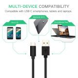 cabo cobrando da sincronização dos dados do carregador do USB 5V/2.4A para o Tipo-c telefone