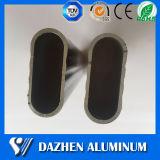 Personalizado Armario oval del tubo colgante de aluminio de extrusión de aluminio Perfil