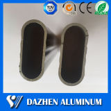 Kundenspezifisches ovale Garderoben-hängendes Gefäß-Aluminiumaluminiumstrangpresßling-Profil