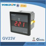 Метр Gv23V напряжения тока AC цифров