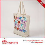 昇進の最も新しいシルクスクリーンの印刷のキャンバスの綿袋かハンド・バッグ