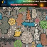 Karikatur-Muster gedruckt auf Polyester-Check-Gewebe für Kleid/Beutel