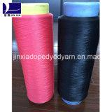 Het Garen Verdovend middel Geverfte 60d/24f van de Gloeidraad van de Polyester DTY