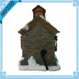 Animated Holiday Maison de Village Downtown Musical Christmas Decor Diplay