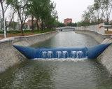 Barrage en caoutchouc gonflable pour l'irrigation