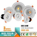 세륨 RoHS를 가진 상업적인 점화 40W 크리 사람 상표 옥수수 속 LED Downlight