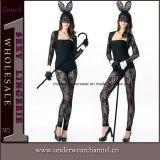 Reizvolles Halloween-nettes Häschen-Mädchen-Wäsche Cosplay Kostüm (T89019)