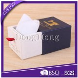 Caliente venta simple cartón blanco reloj correa caja