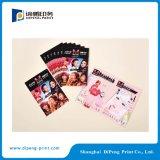 化粧品用の小型カタログ印刷