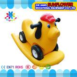 Véhicule en plastique de jouet de gosses pour le double véhicule préscolaire de secousse (XYH12072-10)