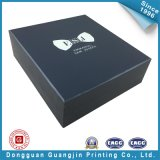 Het aangepaste Zwarte Verpakkende Vakje van het Document (gJ-Box146)