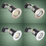 Ceiling ahuecado GU10 Halogen o LED Fire Rated Downlight