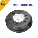 Аттестованный ISO/Ts16949 тормозный барабан отливки утюга запасной части тележки