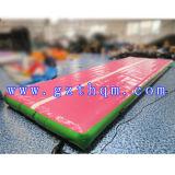 De opblaasbare Opblaasbare Lucht van de Mat van de Gymnastiek van het Spoor van het Kussen van de Lucht tuimelt Spoor