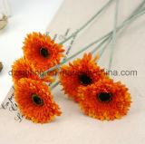 結婚式またはホームまたは庭の装飾(SF13860)のための単一のGerberaの人工花