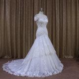 Привлекательное платье венчания Neckline шлюпки типа