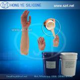 Próteses de Cor de Pele Prática de Fabricação de Mantas de Silicone