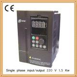 inversor de la frecuencia 1.5kw, VSD, VFD, impulsión de la CA para el motor del comienzo del condensador la monofásico