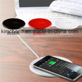 Qi Round Wireless Charger Pad con White, Black, Red Color per Smart Phone