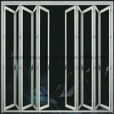 防音のHeat-Insulated省エネのBi折るアルミニウムドア
