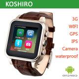 Wasserdichte intelligente Uhr des Android-4.42