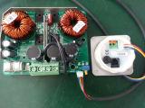 Монитор индикации LCD с Ve. Сразу порт для силы панели, течения батареи, напряжения тока