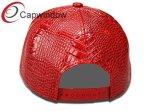 Крышка Snapback способа кожаный с высокочастотным логосом