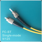 FC-Str. PC Single-Mode Faser-Optiksteckschnür