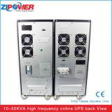 과전압 보호와 대기 유형 10kVA 온라인 UPS