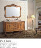 Governo di legno solido impermeabile 2016 di vanità della stanza da bagno del PVC